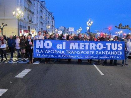 Plataforma Transporte convoca manifestación contra el Metro-TUS la víspera del chupinazo
