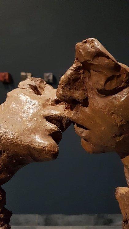 Llega al museo provincial 'Cosmología', la obra más experimental y libre del escultor Martín Lagares