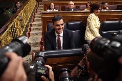 Pedro Sánchez comparecerá el martes en el Congreso para informar de su programa de gobierno