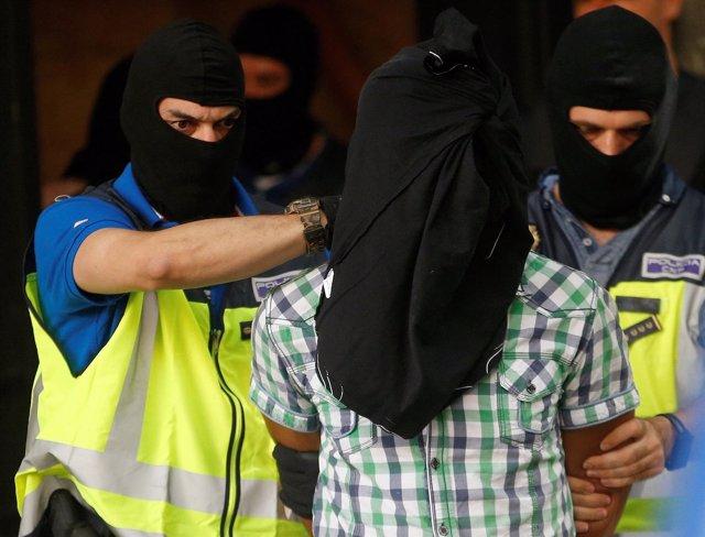 Detienen en Madrid a tres yihadistas en una operación del 21 de junio