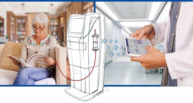 Nuevo sistema de telemonitorización para pacientes en hemodiálisis domiciliaria