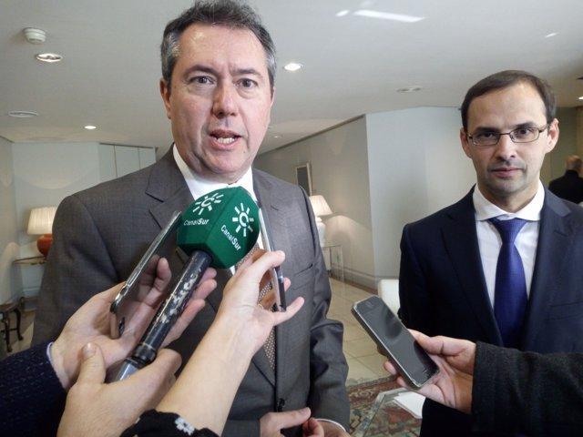 El alcalde de Sevilla, Juan Espadas.