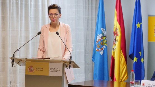 La nueva delegada del Gobierno en Melilla, Sabrina Moh Abdelkader