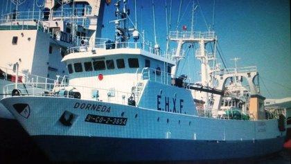 Apuntan a que el hundimiento del pesquero gallego en Argentina se produjo al entrar agua por una rampa
