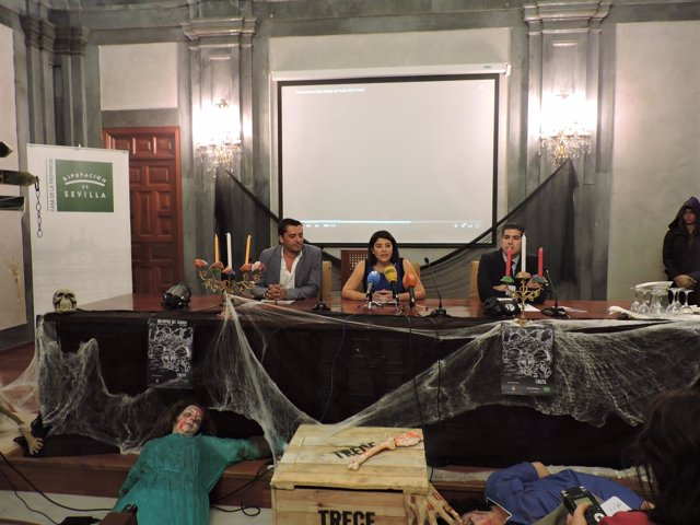 Presentación de la Noche del Terror de San Nicolás del Puerto