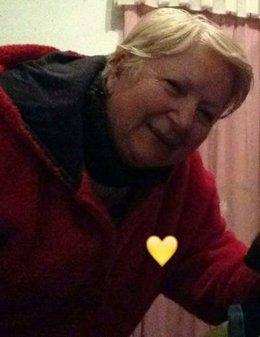 Foto de la mujer de Cambre desaparecida distribuida por la Guardia Civil