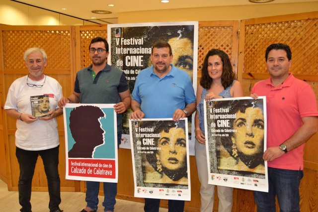 Presentación del V Festival Internacional de Cine de Calzada de Calatrava