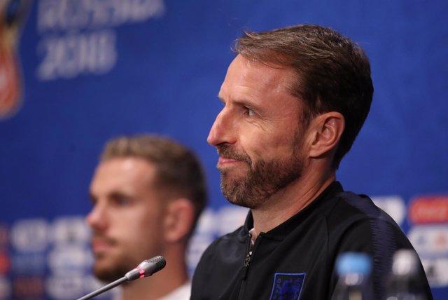 El seleccionador inglés Gareth Southgate