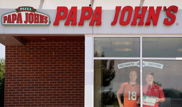 The Papa John's store in Westminster, Colorado, U.S. August 1, 2017.  REUTERS/Ri