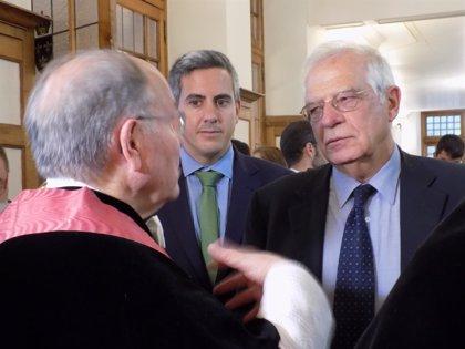 """Borrell: """"El Gobierno belga debería intervenir en defensa del sistema judicial español"""""""