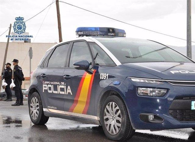 Coche policía nacional