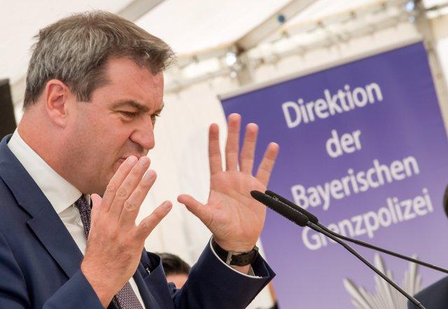 El primer ministre de Baviera, Markus Soeder
