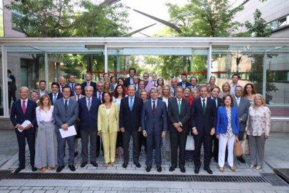 Pío García Escudero se reúne con el Grupo Parlamentario Popular con la mirada puesta en las elecciones de 2019