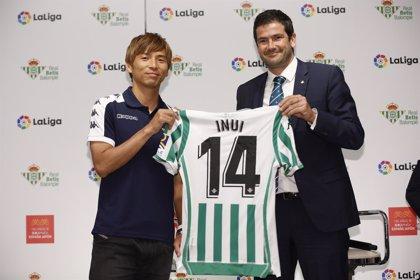 """Inui, presentado en Japón: """"El estilo del Betis es justo lo que buscaba"""""""