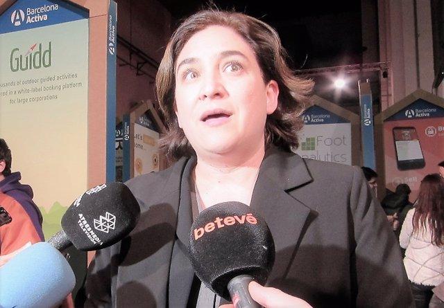 Ada Colau, alcaldesa de Barcelona/ARCHIVO