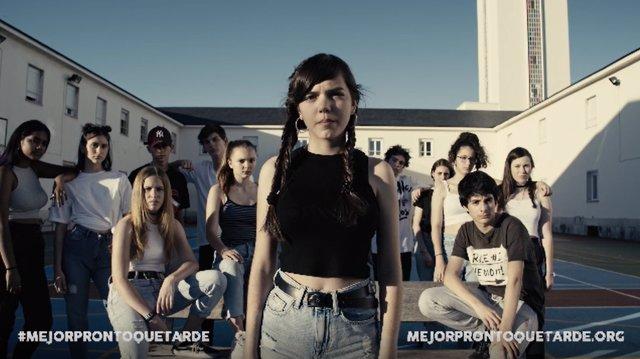 Campaña de sensibilización dirigida a jóvenes del Proyecto Hombre
