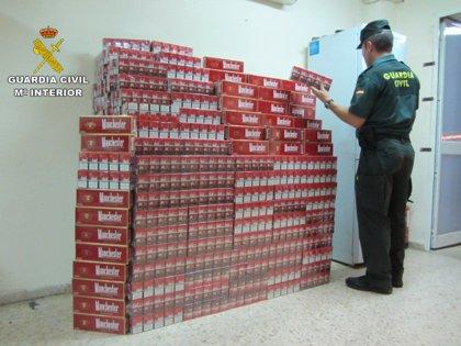 Incautadas más de 5.600 cajetillas de tabaco de contrabando en establecimientos de la provincia de Huelva