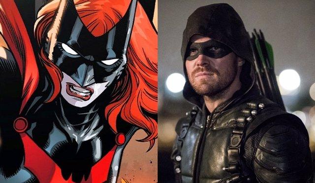 Batwoman y Stephen Amell en Arrow