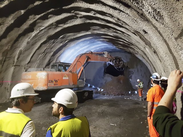 Túnel de Cerdedelo (Ourense)