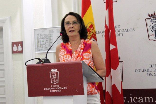 La consejera de Justicia de la Comunidad, Yolanda Ibarrola