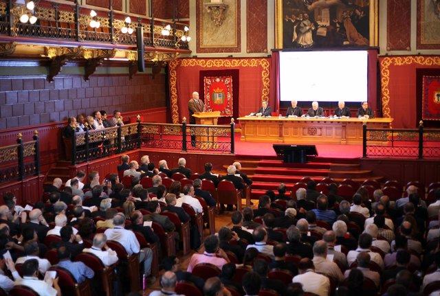 Inaguración de las jornadas de universidades jesuitas en todo el mundo, en Deust