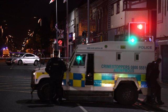 Cordón policial en Belfast por una falsa amenaza de bomba
