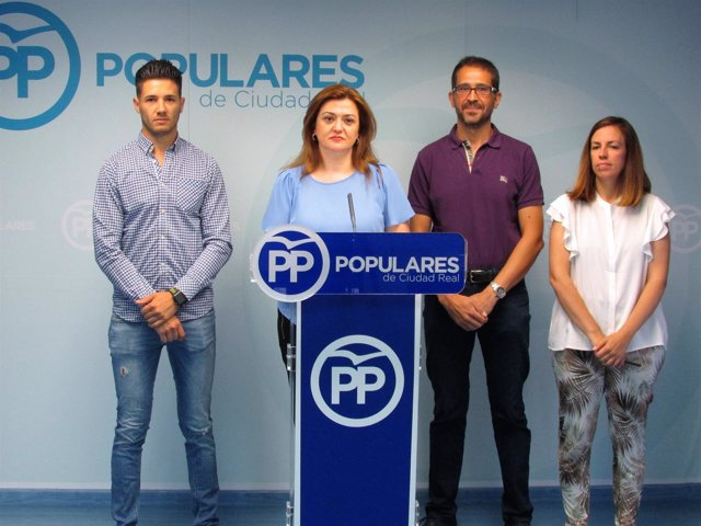 Ediles del PP de Puertollano