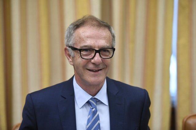 José Guirao comparece en la Comisión de Cultura y Deporte del Congreso