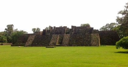 Un terremoto revela una antigua estructura en una pirámide de México