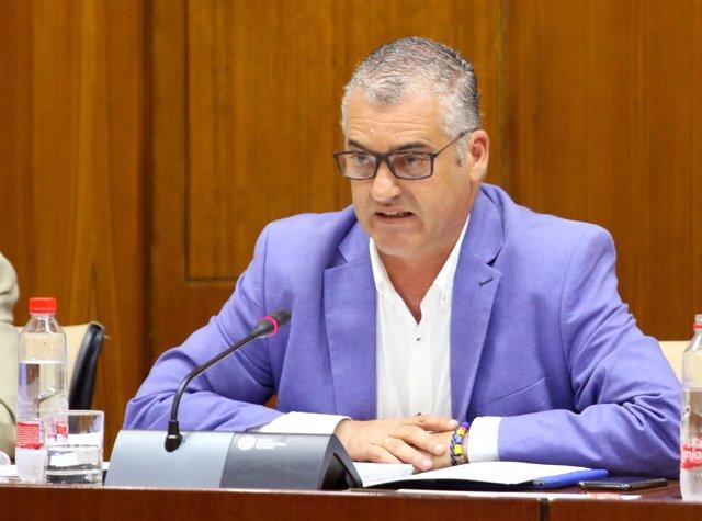 Javier Carneo, consejero de Empleo, Empresa y Comercio.