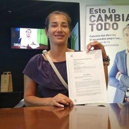 María Lorenza Ferreira Colmán, vecina de Barcelona