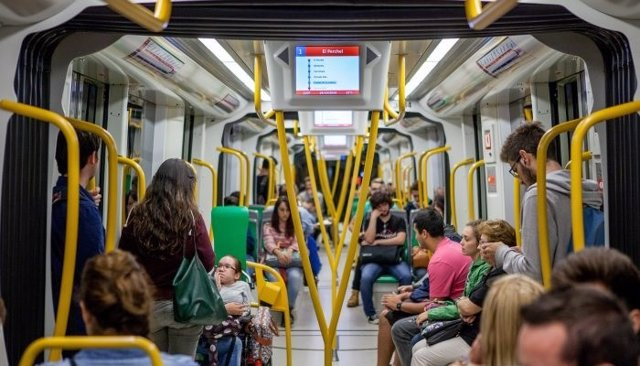 Metro de Málaga, pasajeros