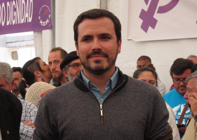 Alberto Garzón , coordinador general de Izquierda Unida