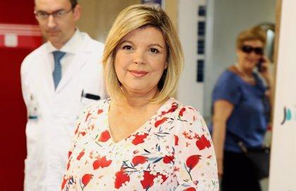 Terelu Campos abandona el hospital dando las gracias y esperanzada