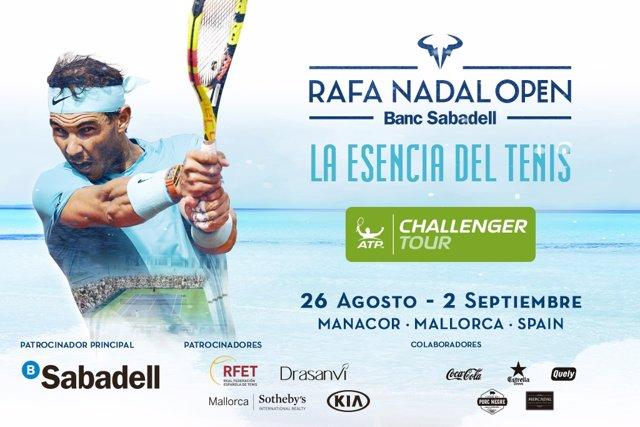 Cartel del Rafa Nadal Open
