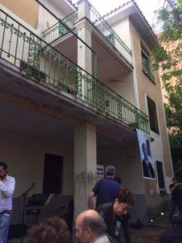 PSOE critica la inacción de Ahora Madrid por salvar Velintonia