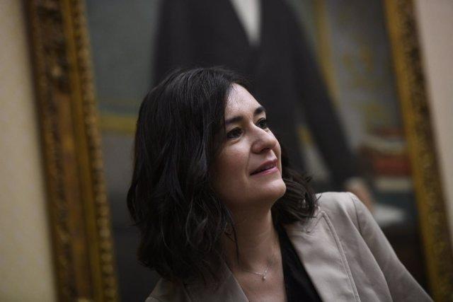 Carmen Montón comparece en la Comisión de Sanidad del Congreso