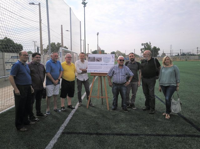 Presentación del proyecto de remodelación de las instalaciones del CD Fleta.