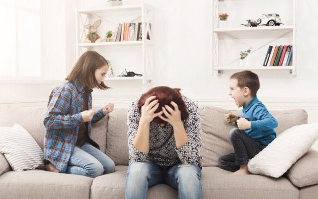 Educar sin gritos: si tú gritas, ellos gritan
