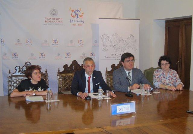 Salamanca.- Presentación Del Congreso Internacional
