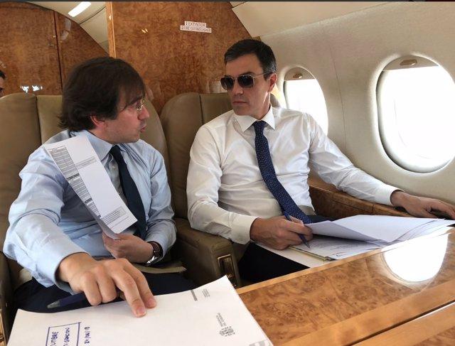 Pedro Sánchez rumbo a Bruselas