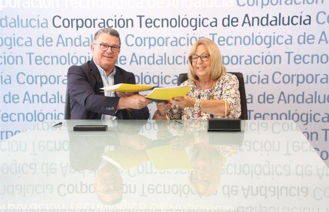 Firma de convenio de colaboración entre Eticom y CTA