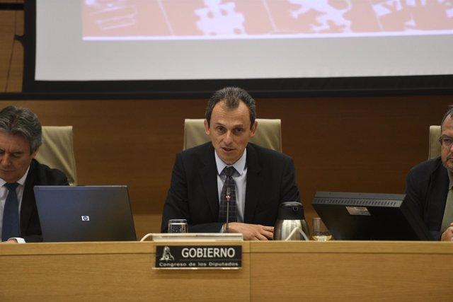 Pedro Duque comparece en la Comisión de Ciencia en el Congreso