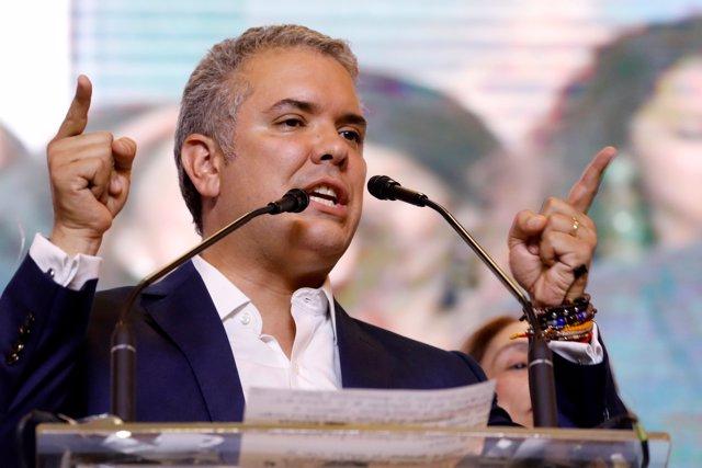 El presidente electo de Colombia, Iván Duque