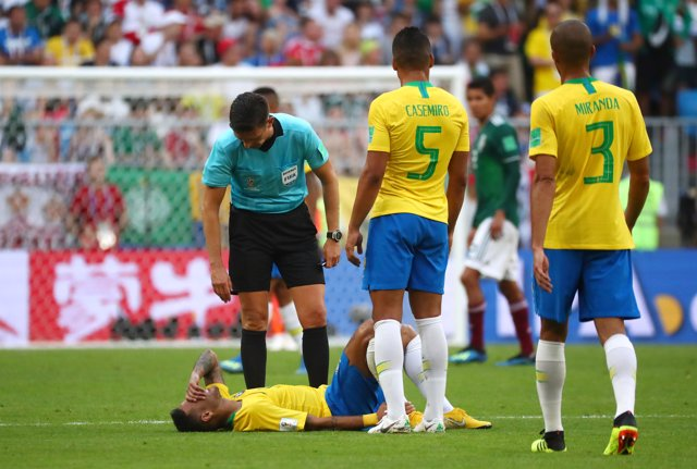 Neymar con Brasil