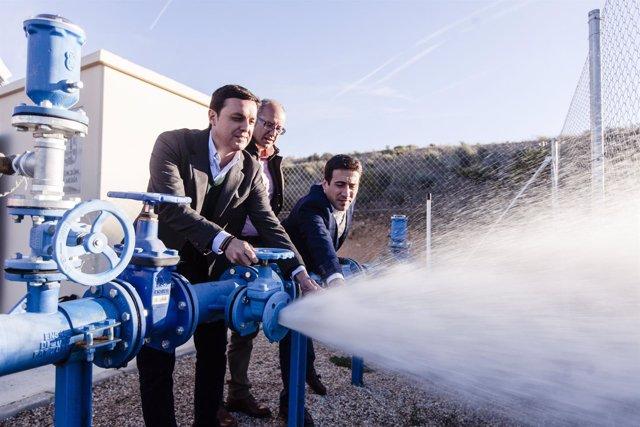 Diputación instalará en Sorbas un campo solar para abastecer un sondeo.