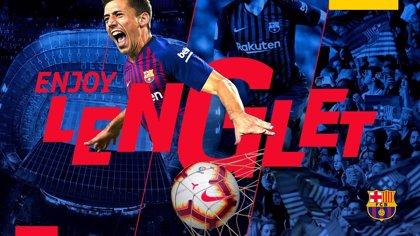 Lenglet, nuevo jugador del Barcelona hasta 2023