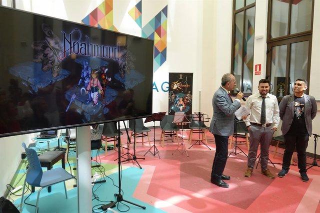 Presentación videojuego Noahmund en el Polo Digital de Málaga