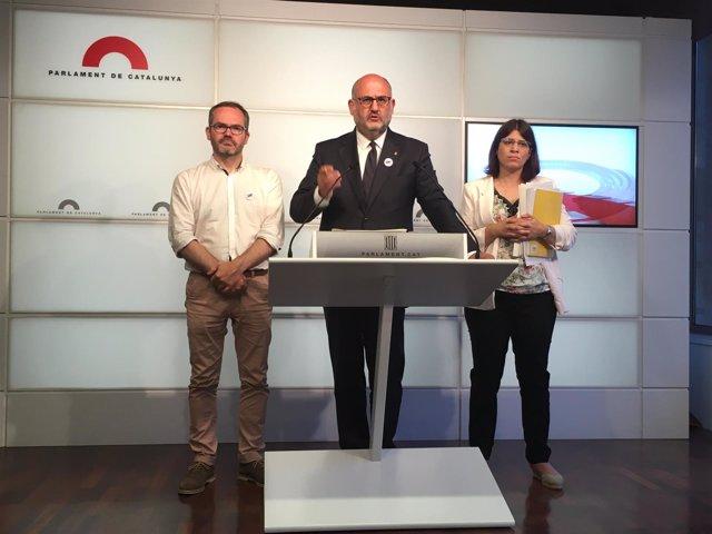 Diputados de JxCat valoran la decisión de la justicia alemana
