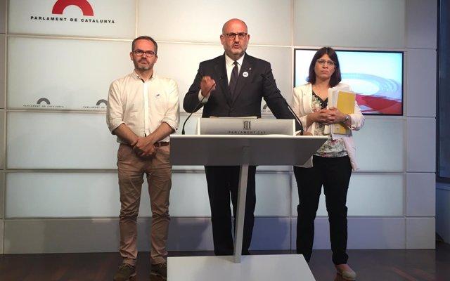 JxCat exige la libertad de los presos soberanistas tras la decisión alemana sobre Puigdemont